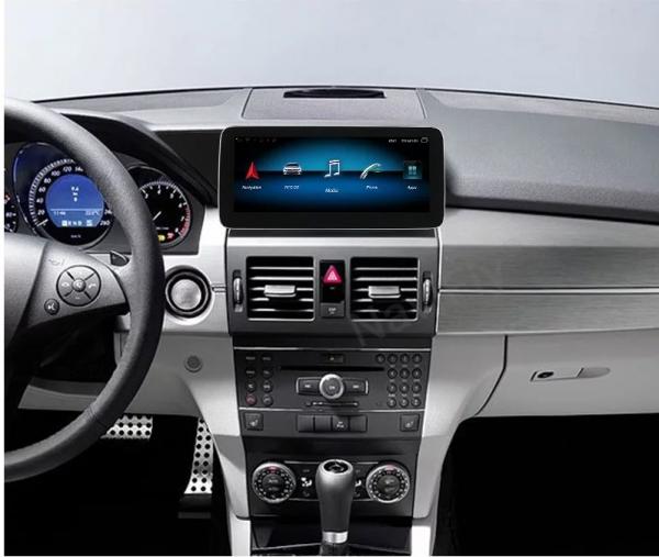 "Navigatie Mercedes GLK X204 ( 2008 - 2012) , Android , NTG 4.0 , 4GB RAM + 64 GB ROM , Slot Sim 4G LTE , Display 10.25 "" rez 1920*720 , Procesor Octa Core , Internet , Aplicatii , Waze , Wi Fi , Usb 2"