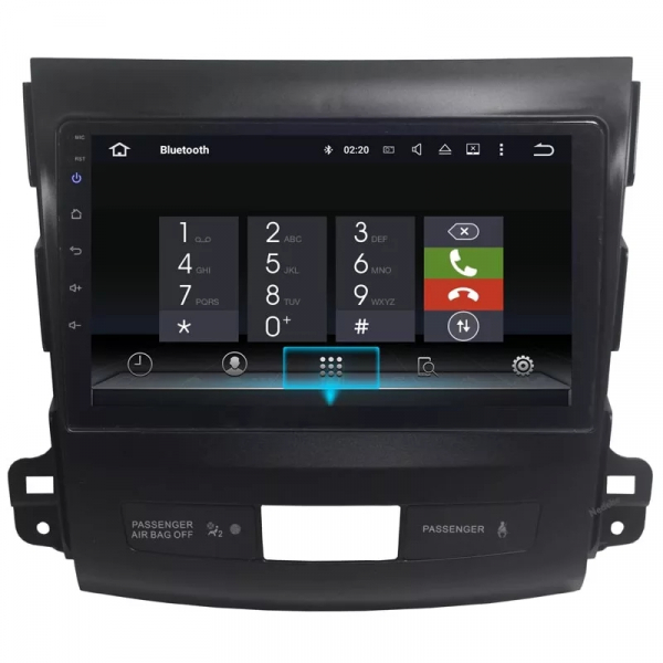 Navigatie Peugeot 4007 ( 2007 - 2012 ) , Android , Display 9 inch , 2GB RAM +32 GB ROM , Internet , 4G , Aplicatii , Waze , Wi Fi , Usb , Bluetooth , Mirrorlink 1