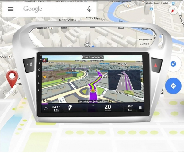 "Navigatie Gps Citroen C-Elysee ( 2012 + )  , Android , 2 GB RAM+16 GB ROM , Display 10.1 "" , Internet , 4G , Aplicatii , Waze , Wi Fi , Usb , Bluetooth , Mirrorlink 3"