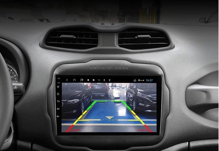 Navigatie Jeep Renegade ( 2015 -2021 ) , 4 GB RAM + 64 GB ROM , Slot Sim 4G pentru Internet , Carplay , Android , Aplicatii , Usb , Wi Fi , Bluetooth 1