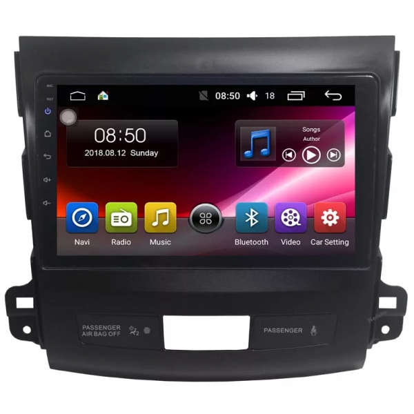 Navigatie Mitsubishi Outlander ( 2006 - 2014 ) , Android , Display 9 inch , 2GB RAM +32 GB ROM , Internet , 4G , Aplicatii , Waze , Wi Fi , Usb , Bluetooth , Mirrorlink 0
