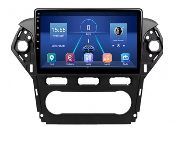 Navigatie Ford Mondeo ( 2010 - 2014 ) , Android , Display 9 inch , 2GB RAM +32 GB ROM , Internet , 4G , Aplicatii , Waze , Wi Fi , Usb , Bluetooth , Mirrorlink [0]