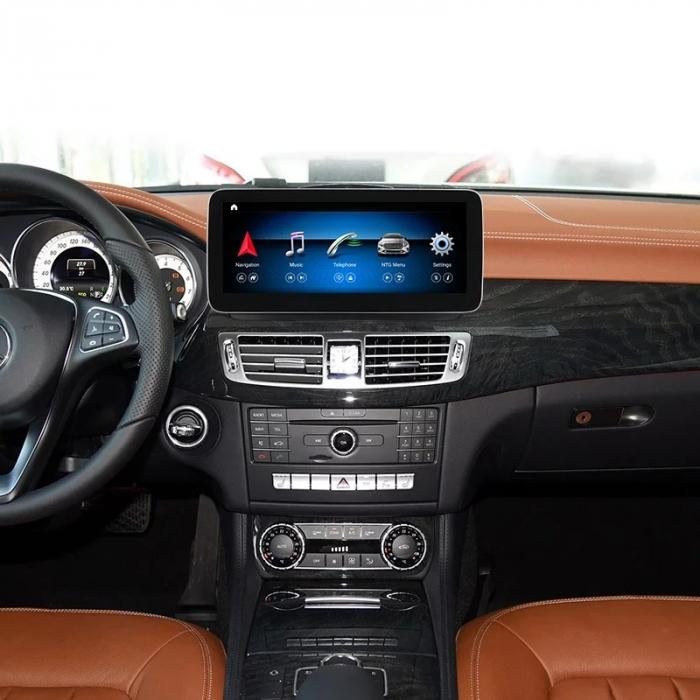 """Navigatie Mercedes CLS W218 ( 2011 - 2015 ) , 4 GB RAM si 64 GB ROM , Slot Sim 4G , Android , Display 10.25 """" rezolutie 1920*720 , Internet , Wi Fi , Usb , Bluetooth [4]"""