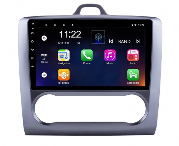 Navigatie Ford Focus ( 2004 - 2011 ) , Android , Clima Automata , Display 9 inch , 2GB RAM +32 GB ROM , Internet , 4G , Aplicatii , Waze , Wi Fi , Usb , Bluetooth , Mirrorlink 0