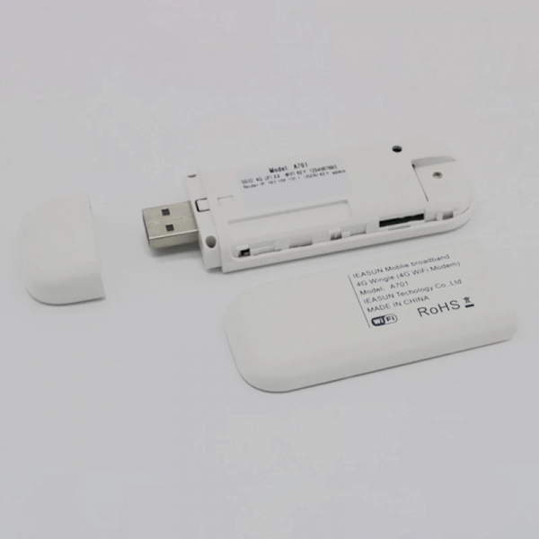 Modem WiFi 4G LTE USB HotSpot Internet wireless in masina 1
