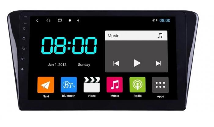 Navigatie Peugeot 408 ( 2014 - 2020 ) , Android , Display 10 inch , 2GB RAM +32 GB ROM , Internet , 4G , Aplicatii , Waze , Wi Fi , Usb , Bluetooth , Mirrorlink 0