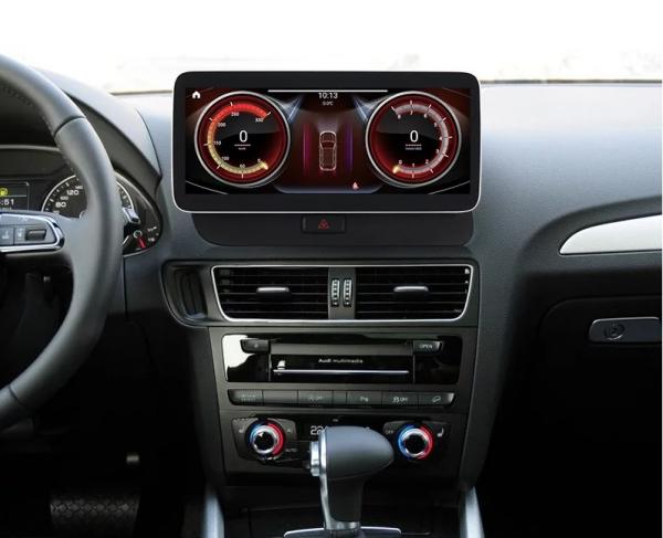 """Navigatie Audi Q5 ( 2009 - 2016) ,  Audi MMI 3G , Android , 4GB RAM +64 GB ROM , Slot Sim 4G LTE , Display 10.25 """" rez 1920*720 , Procesor Octa Core , Internet 1"""
