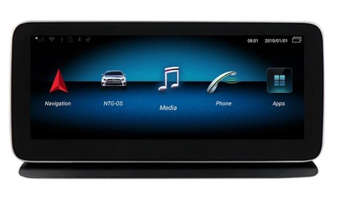 """Navigatie Mercedes X Class W470 ( 2015 - 2018 ) , 4 GB RAM + 64 GB ROM , Slot Sim 4G , Android , Display 10.25 """" rezolutie 1920*720 , Internet , Wi Fi , Usb , Bluetooth [0]"""