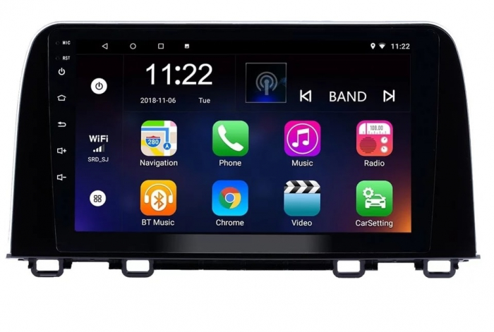 Navigatie Honda CR-V ( 2016 - 2019 ) , Android , Display 9 inch , 2GB RAM +32 GB ROM , Internet , 4G , Aplicatii , Waze , Wi Fi , Usb , Bluetooth , Mirrorlink 1