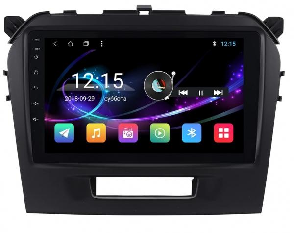 Navigatie Suzuki Grand Vitara ( 2016 + ) , Android , Display 9 inch , 2GB RAM +32 GB ROM , Internet , 4G , Aplicatii , Waze , Wi Fi , Usb , Bluetooth , Mirrorlink 3