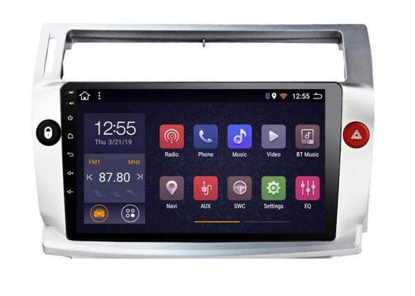 Navigatie Citroen C4 ( 2004 - 2011 ) , Android , Display 9 inch , 2GB RAM +32 GB ROM , Internet , 4G , Aplicatii , Waze , Wi Fi , Usb , Bluetooth , Mirrorlink [1]