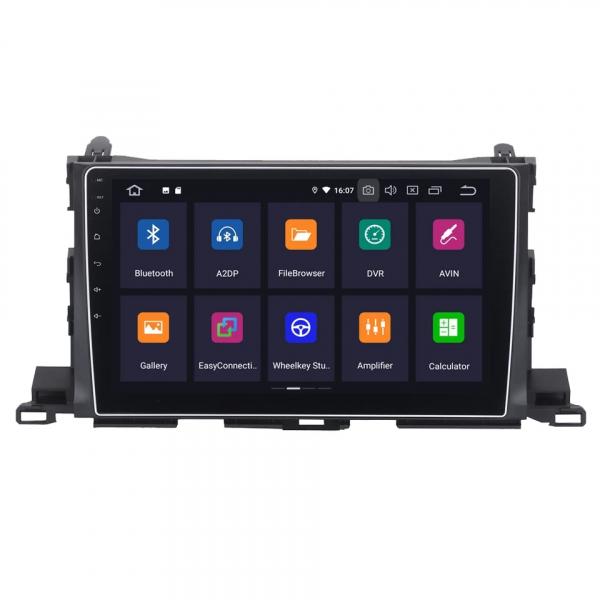 Navigatie Toyota Highlander ( 2014 - 2018 ) , Android , Display 9 inch , 2GB RAM +32 GB ROM , Internet , 4G , Aplicatii , Waze , Wi Fi , Usb , Bluetooth , Mirrorlink 4