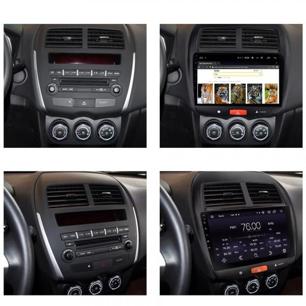 Navigatie Mitsubishi ASX ( 2010 - 2019 ) , Android , Display 9 inch , 2GB RAM +32 GB ROM , Internet , 4G , Aplicatii , Waze , Wi Fi , Usb , Bluetooth , Mirrorlink 4