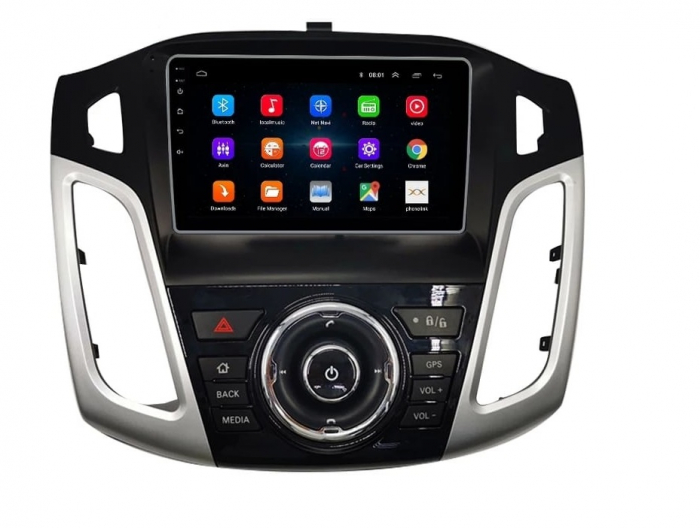 Navigatie Ford Focus 2012 - 2018 , Slot SIM 4G , Android , 3 GB RAM si 32 GB ROM , Internet, Aplicatii, Waze , Wi Fi , Usb , Bluetooth , Mirrorlink 0