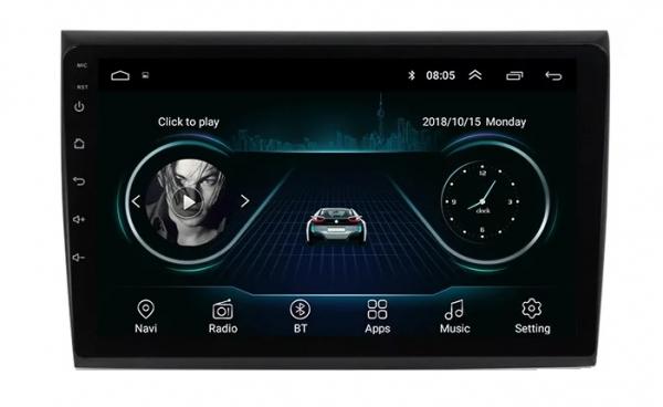 Navigatie Fiat Bravo ( 2007 - 2012 ) , Android , Display 9 inch , 2GB RAM +32 GB ROM , Internet , 4G , Aplicatii , Waze , Wi Fi , Usb , Bluetooth , Mirrorlink 3
