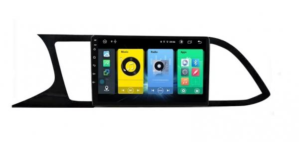 Navigatie Seat Leon 3 ( 2014 - 2020 ) , Android , Display 9 inch , 2GB RAM +32 GB ROM , Internet , 4G , Aplicatii , Waze , Wi Fi , Usb , Bluetooth , Mirrorlink 2