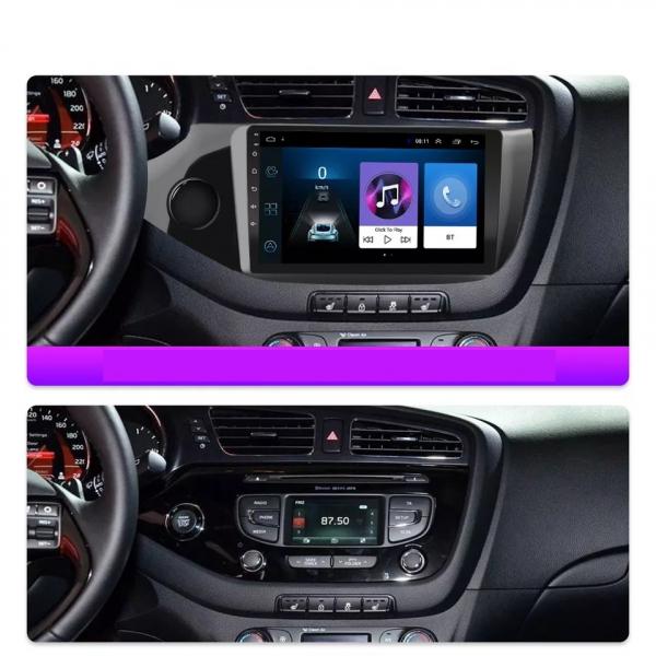Navigatie Kia Ceed ( 2012 - 2020 ) , Android , Display 9 inch , 2GB RAM +32 GB ROM , Internet , 4G , Aplicatii , Waze , Wi Fi , Usb , Bluetooth , Mirrorlink [3]
