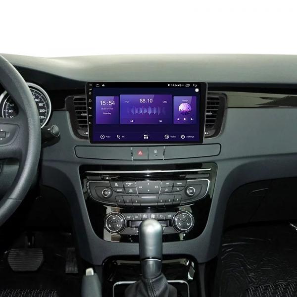 Navigatie Peugeot 508 ( 2010 - 2018 ) , Android , Display 9 inch , 2GB RAM +32 GB ROM , Internet , 4G , Aplicatii , Waze , Wi Fi , Usb , Bluetooth , Mirrorlink 3