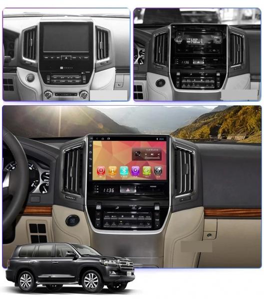 Navigatie Toyota Land Cruiser ( 2015 + ) , Android , Display 9 inch , 2GB RAM +32 GB ROM , Internet , 4G , Aplicatii , Waze , Wi Fi , Usb , Bluetooth , Mirrorlink 1