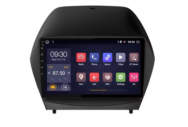 Navigatie Hyundai ix 35 Tucson ( 2009 - 2015 ) , Android , Display 9 inch , 2GB RAM +32 GB ROM , Internet , 4G , Aplicatii , Waze , Wi Fi , Usb , Bluetooth , Mirrorlink 0
