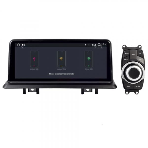 Navigatie BMW Seria 1 E87 ( 2005 - 2012 ) , Android , 4 GB RAM + 64 GB ROM , Internet , 4G , Youtube , Waze , Wi Fi , Usb , Bluetooth , Mirrorlink 3