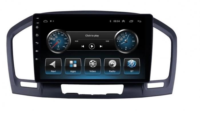 Navigatie Opel Insignia ( 2008 - 2013 ) , Android , 2GB RAM + 32 GB ROM , Internet , 4G , Aplicatii , Waze , Wi Fi , Usb , Bluetooth , Mirrorlink 5