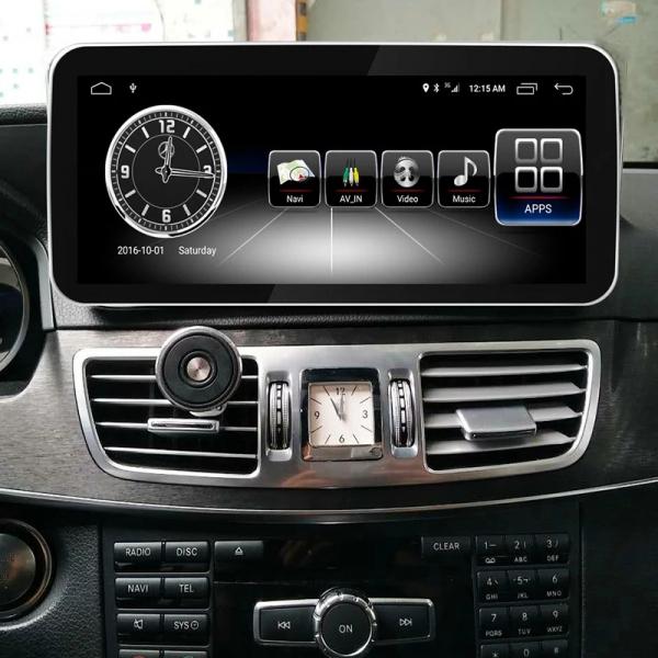 "Navigatie Mercedes E Class W212 ( 2012 - 2014) ,  Android , NTG 4.5 , 4GB RAM + 64 GB ROM , Slot Sim 4G LTE , Display 10.25 "" rez 1920*720 , Procesor Octa Core , Internet , Aplicatii , Waze , Wi Fi , 7"