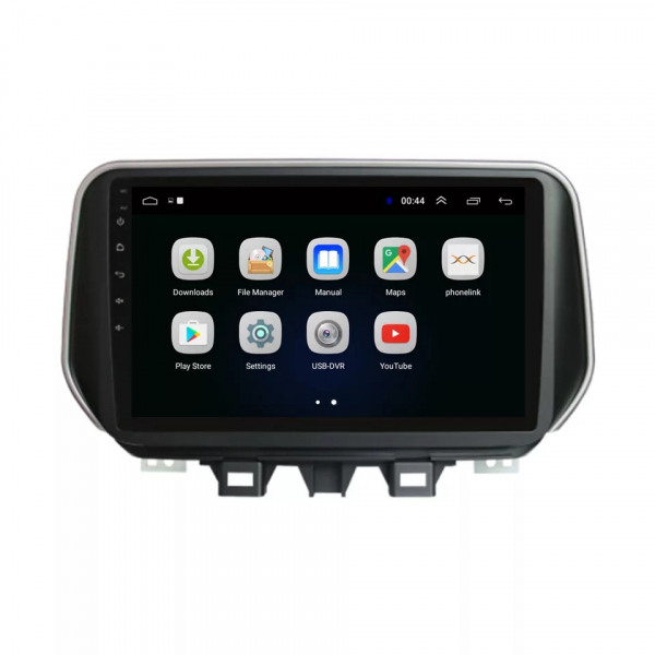 Navigatie Hyundai Tucson ( 2019 + ) , Android , Display 9 inch , 2GB RAM +32 GB ROM , Internet , 4G , Aplicatii , Waze , Wi Fi , Usb , Bluetooth , Mirrorlink 1
