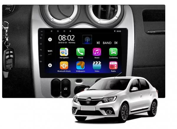 Navigatie Dacia Logan ( 2009 - 2016 ) , Android , Display 9 inch , 2GB RAM +32 GB ROM , Internet , 4G , Aplicatii , Waze , Wi Fi , Usb , Bluetooth , Mirrorlink [4]