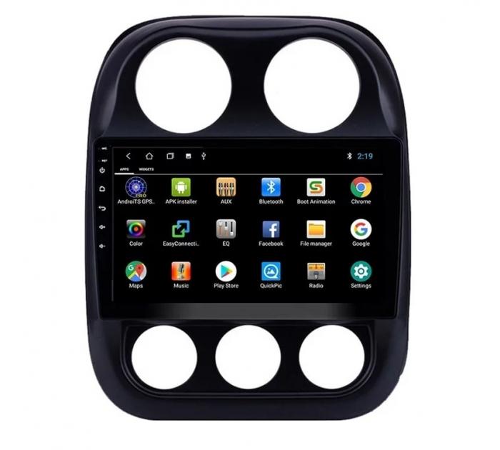 Navigatie Jeep Compass ( 2010 - 2016 ) , Android , Display 9 inch , 2GB RAM +32 GB ROM , Internet , 4G , Aplicatii , Waze , Wi Fi , Usb , Bluetooth , Mirrorlink 6