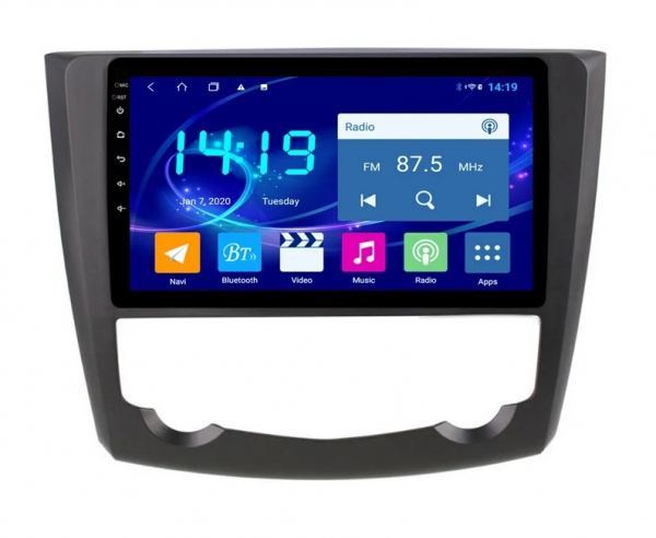 Navigatie Renault Kadjar ( 2016 + ) , Android , Display 9 inch , 2GB RAM +32 GB ROM , Internet , 4G , Aplicatii , Waze , Wi Fi , Usb , Bluetooth , Mirrorlink 3