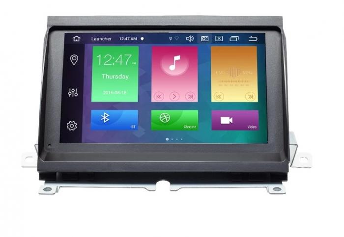 Navigatie Land Rover Discovery 3 ( 2004 - 2009 ) , Android , 2GB RAM si 32 GB ROM , Internet , 4G , Aplicatii , Waze , Wi Fi , Usb , Bluetooth , Mirrorlink [0]