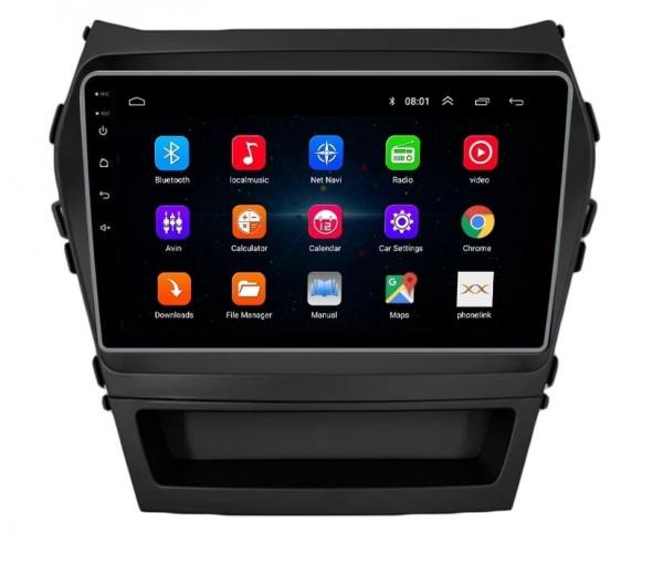 Navigatie Hyundai Santa Fe ix 45 ( 2012 - 2017 ) , Android , Display 9 inch , 2GB RAM +32 GB ROM , Internet , 4G , Aplicatii , Waze , Wi Fi , Usb , Bluetooth , Mirrorlink 0
