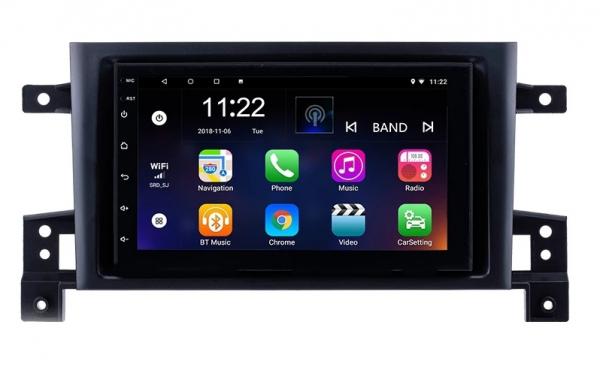 Navigatie Suzuki Grand Vitara ( 2005-2015 ) , Android , Display 9 inch , 2GB RAM +32 GB ROM , Internet , 4G , Aplicatii , Waze , Wi Fi , Usb , Bluetooth , Mirrorlink 2