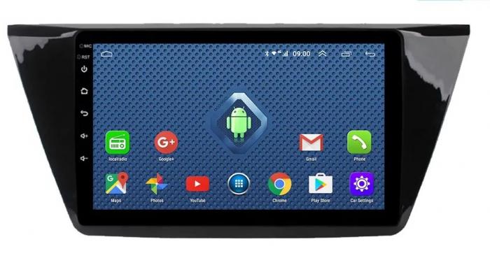 Navigatie VW Touran 2016 + , 4 GB RAM si 64 GB ROM , Slot Sim 4G pentru Internet , Carplay , Android , Aplicatii , Usb , Wi Fi , Bluetooth [0]
