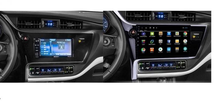 Navigatie Toyota Corolla ( 2017 - 2020 ) , Android , Display 9 inch , 2GB RAM +32 GB ROM , Internet , 4G , Aplicatii , Waze , Wi Fi , Usb , Bluetooth , Mirrorlink [1]
