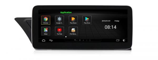"""Navigatie Audi A4 A5 B8 ( 2009 - 2016) ,  Audi MMI 3G , Android , 4GB RAM +64 GB ROM , Slot Sim 4G LTE , Display 10.25 """" rez 1920*720 , Procesor Octa Core , Internet 9"""