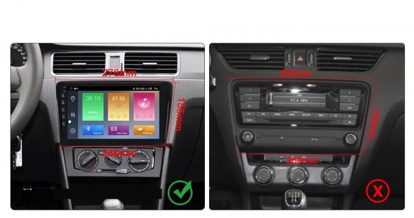 Navigatie Skoda Rapid ( 2013 - 2018 ) , Android , Display 9 inch , 2GB RAM +32 GB ROM , Internet , 4G , Aplicatii , Waze , Wi Fi , Usb , Bluetooth , Mirrorlink [6]
