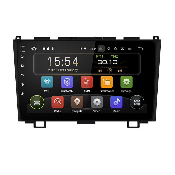 Navigatie Honda CRV ( 2006 - 2011 ) , 4 GB RAM + 64 GB ROM , Slot Sim 4G pentru Internet , Carplay , Android , Aplicatii , Usb , Wi Fi , Bluetooth 0