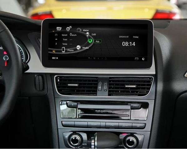 "Navigatie Audi A4 A5 B8 ( 2009 - 2016) , Audi Concert / Symphony , Android , 4GB RAM +64 GB ROM , Slot Sim 4G LTE , Display 10.25 "" rez 1920*720 , Procesor Octa Core , Internet 1"