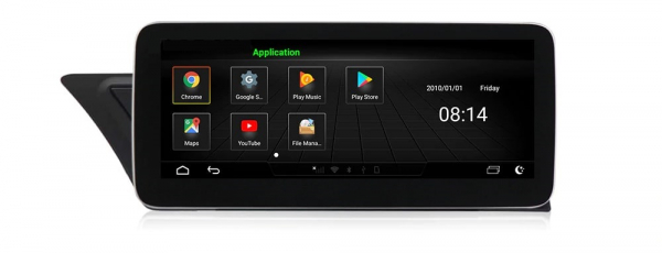 "Navigatie Audi A4 A5 B8 ( 2009 - 2016) , Audi Concert / Symphony , Android , 4GB RAM +64 GB ROM , Slot Sim 4G LTE , Display 10.25 "" rez 1920*720 , Procesor Octa Core , Internet 9"