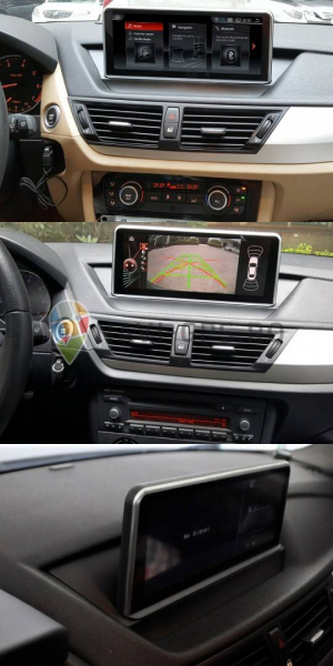 "Navigatie BMW X1 E84 (2009 - 2014 ) , Android , Touchscreen 10.25 "" IPS , 4 GB RAM + 32 GB ROM , Internet , 4G , Aplicatii , Waze , Wi Fi , Usb , Bluetooth , Mirrorlink 3"