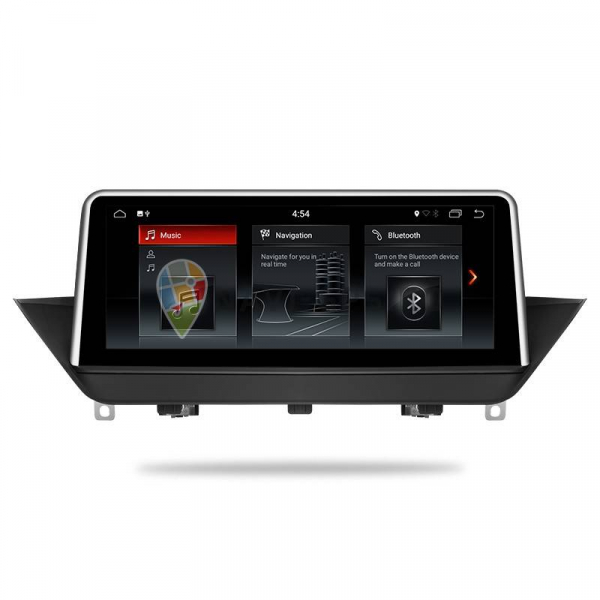 "Navigatie BMW X1 E84 (2009 - 2014 ) , Android , Touchscreen 10.25 "" IPS , 4 GB RAM + 32 GB ROM , Internet , 4G , Aplicatii , Waze , Wi Fi , Usb , Bluetooth , Mirrorlink 2"