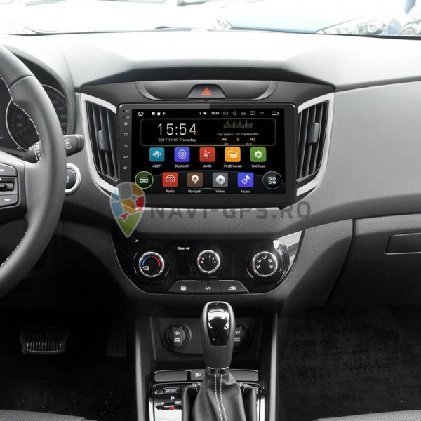 "Navigatie Gps Hyundai ix 25 / Creta , Android 9.0 , Display 9"" , 2GB RAM + 16GB ROM, Internet , Aplicatii , Waze , Wi Fi , 4G ,Bluetooth , Usb 1"