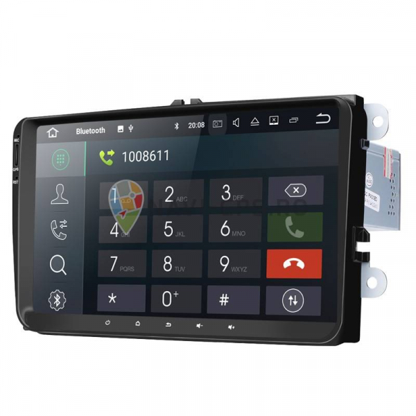 Navigatie Gps 9 inch Seat Leon Altea Toledo Alhambra , Android 9.0 , 2GB RAM , Internet , 4G , Aplicatii , Waze , Wi Fi , Usb , Bluetooth , Mirrorlink 1
