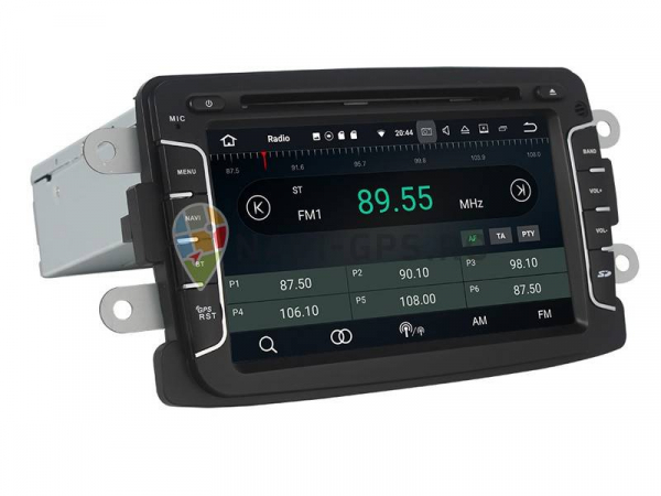Navigatie Dacia Logan Duster Sandero Logdy Dokker , Android 10 ,  2 GB RAM + 16 GB ROM , Internet , 4G , Aplicatii , Waze , Wi Fi , Usb , Bluetooth , Mirrorlink 2