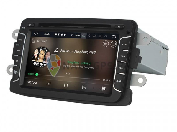Navigatie Dacia Logan Duster Sandero Logdy Dokker , Android 10 ,  2 GB RAM + 16 GB ROM , Internet , 4G , Aplicatii , Waze , Wi Fi , Usb , Bluetooth , Mirrorlink 1