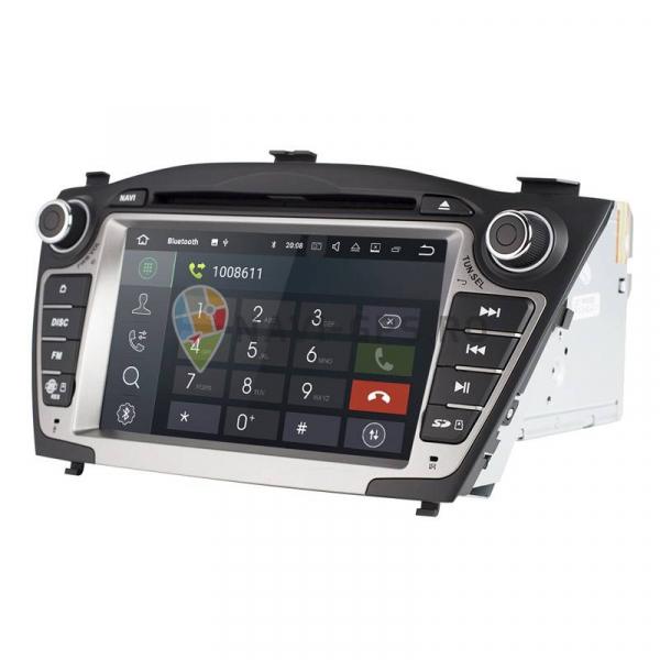 Navigatie Gps Hyundai Tucson ix 35 ( 2009 - 2015 ) , Android , 2GB RAM + 16 GB ROM , Internet , 4G , Aplicatii , Waze , Wi Fi , Usb , Bluetooth , Mirrorlink 1