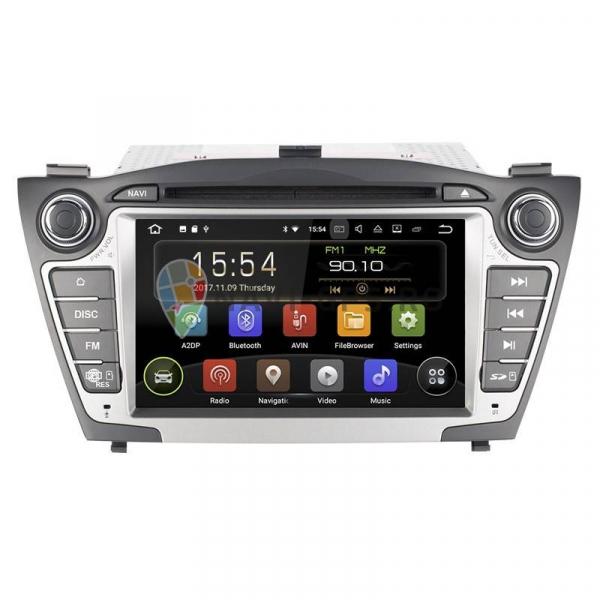 Navigatie Gps Hyundai Tucson ix 35 ( 2009 - 2015 ) , Android , 2GB RAM + 16 GB ROM , Internet , 4G , Aplicatii , Waze , Wi Fi , Usb , Bluetooth , Mirrorlink 0