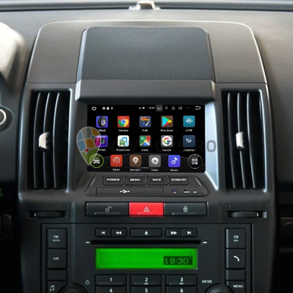 Navigatie Gps Land Rover Freelander 2 ( 2007 - 2012 ) , Android 9.0 ,  2GB RAM + 16GB ROM , Internet , 4G , Aplicatii , Waze , Wi Fi , Usb , Bluetooth , Mirrorlink 2